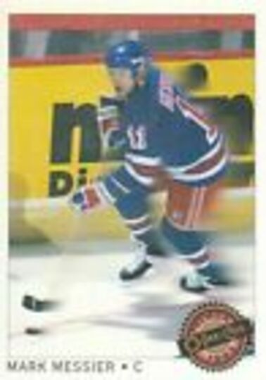 1992-93 O-Pee-Chee Premier Star Performers Mark Messier #15