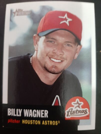 2002 Topps Heritage Billy Wagner #194