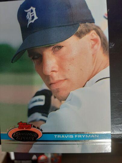 1991 Topps Stadium Club Travis Fryman #355