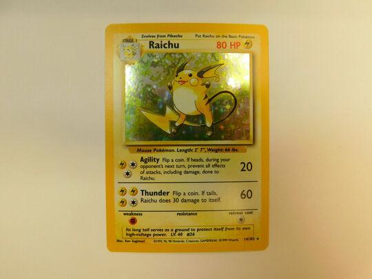 raichu 14/102 unlimited