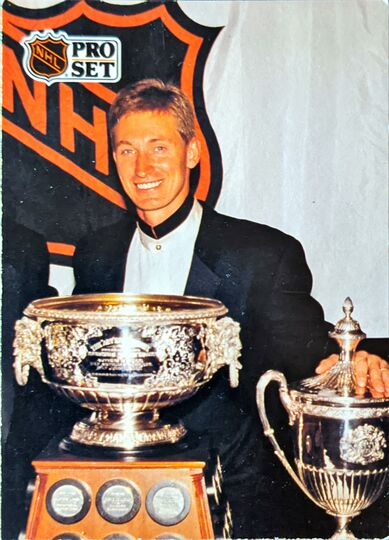 1991 Wayne Gretzky Art Ross Trophy #324