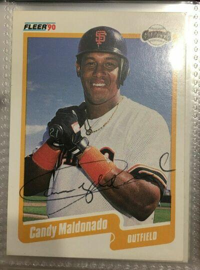 1990 fleer candy maldonado