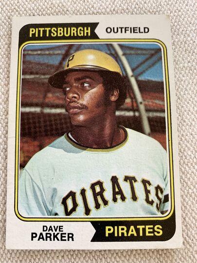 1974 topps baseball card 252