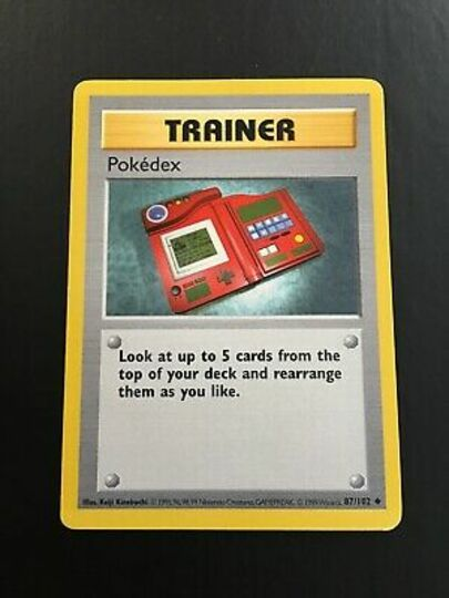 pokedex trainer