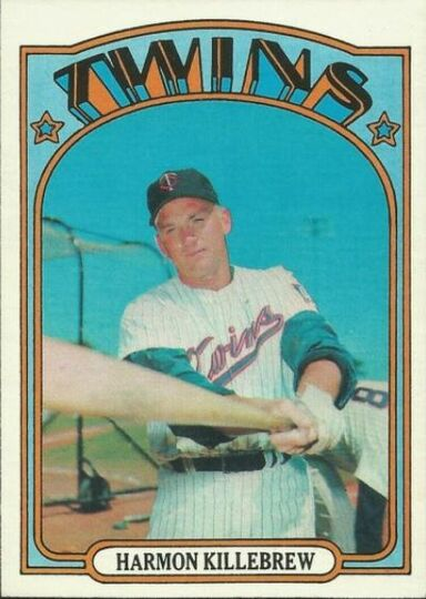 1972 Topps Harmon Killebrew #51 NM