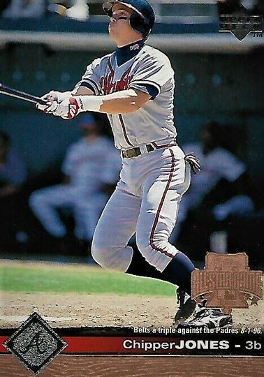 Jones, Chipper 1996 Upper Deck #10