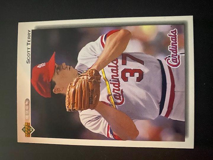 1992 Upper Deck Cardinals Scott Terry 688