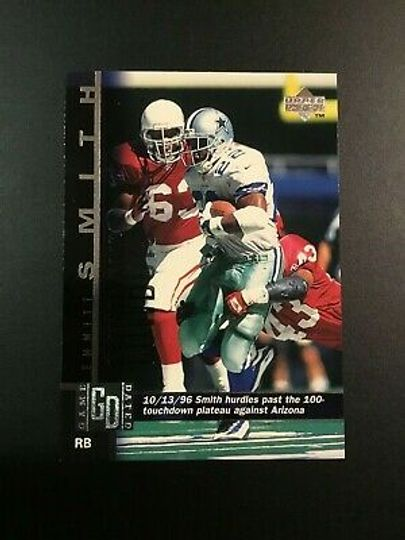 1997 upper deck emmitt smith 133