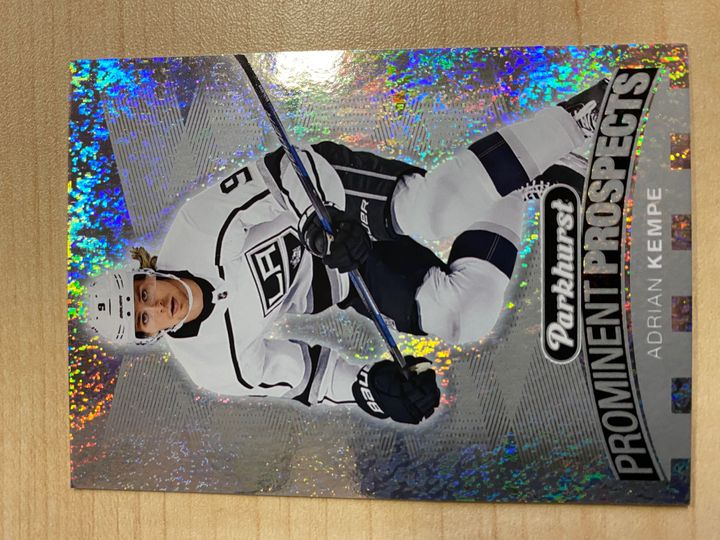 2017/18 Parkhurst Prominent Prospects, card number PP-13, Adrian Kempe