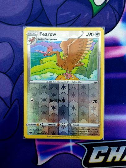 Fearow (112/163) Reverse Holo