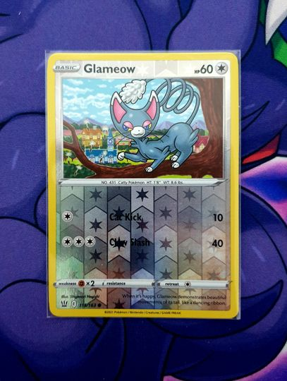 Glameow (115/163) Reverse Holo