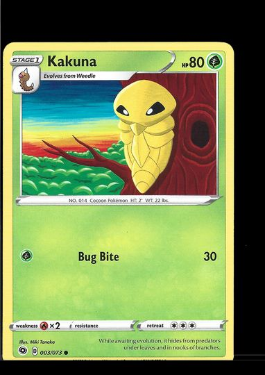 Pokemons Cards Collection Image