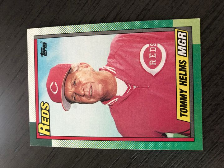 1990 TOPPS TOMMY HELMS 110