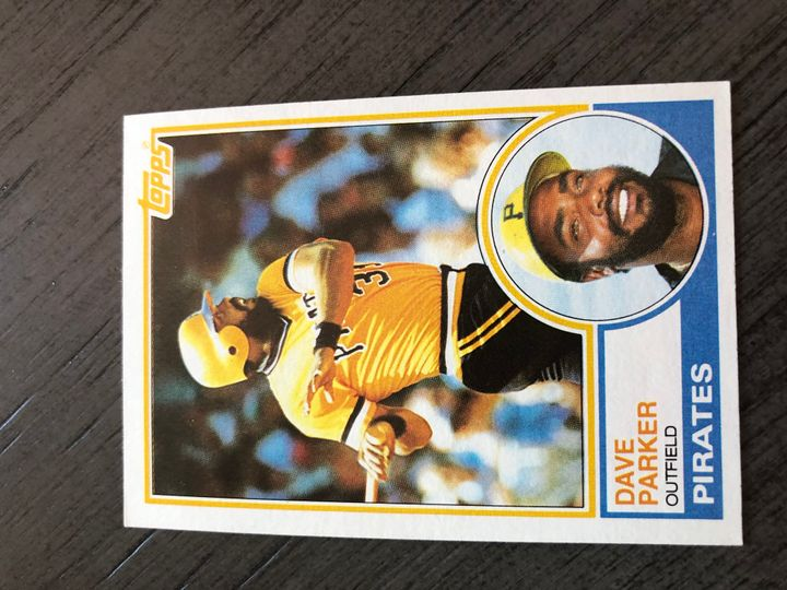 1983 TOPPS DAVE PARKER 205