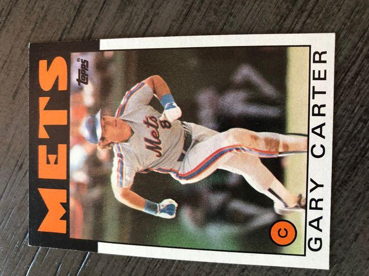 1986 TOPPS GARY CARTER 170