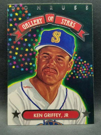 1992 leaf ken griffey jr gs-8