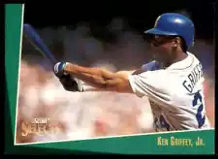1992 score ken griffey jr #2