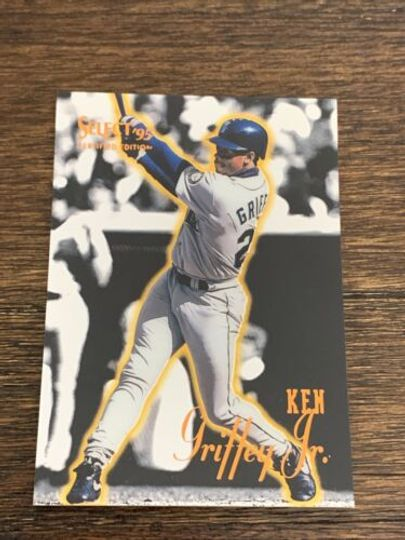 1995 select certified edition ken griffey jr #70