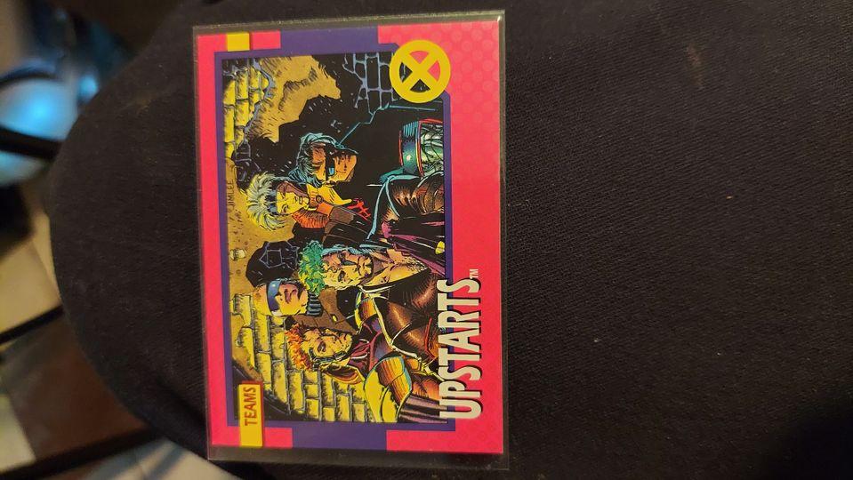 1992 Impel X-Men #79 Upstarts