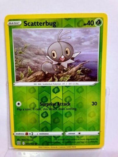 Scatterbug Battle Styles 011/163