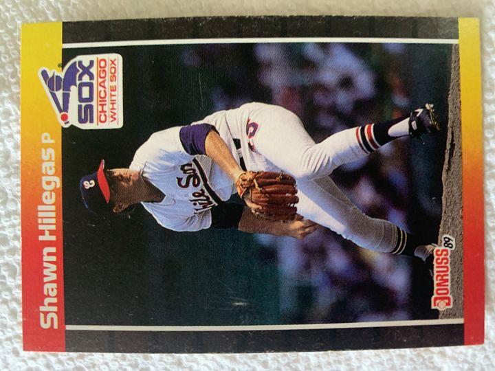 1989 Donruss Shawn Hillegas 503