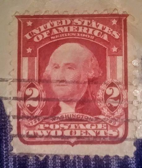 1932 2 cent washington stamp