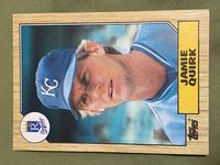 1987 topps 354 jamie quirk
