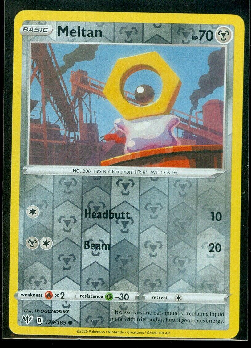 Pokemon Card Darkness Ablaze 129//189 Meltan Common