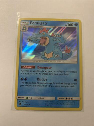Feraligatr 24//70 Holo Dragon Majesty Pokemon TCG