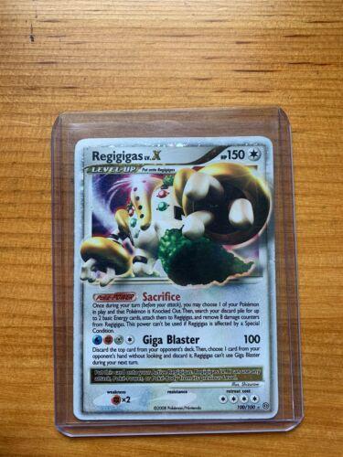 Holo Rare pok-SF-009 Pokemon D/&P Stormfront Card # 9 Regigigas