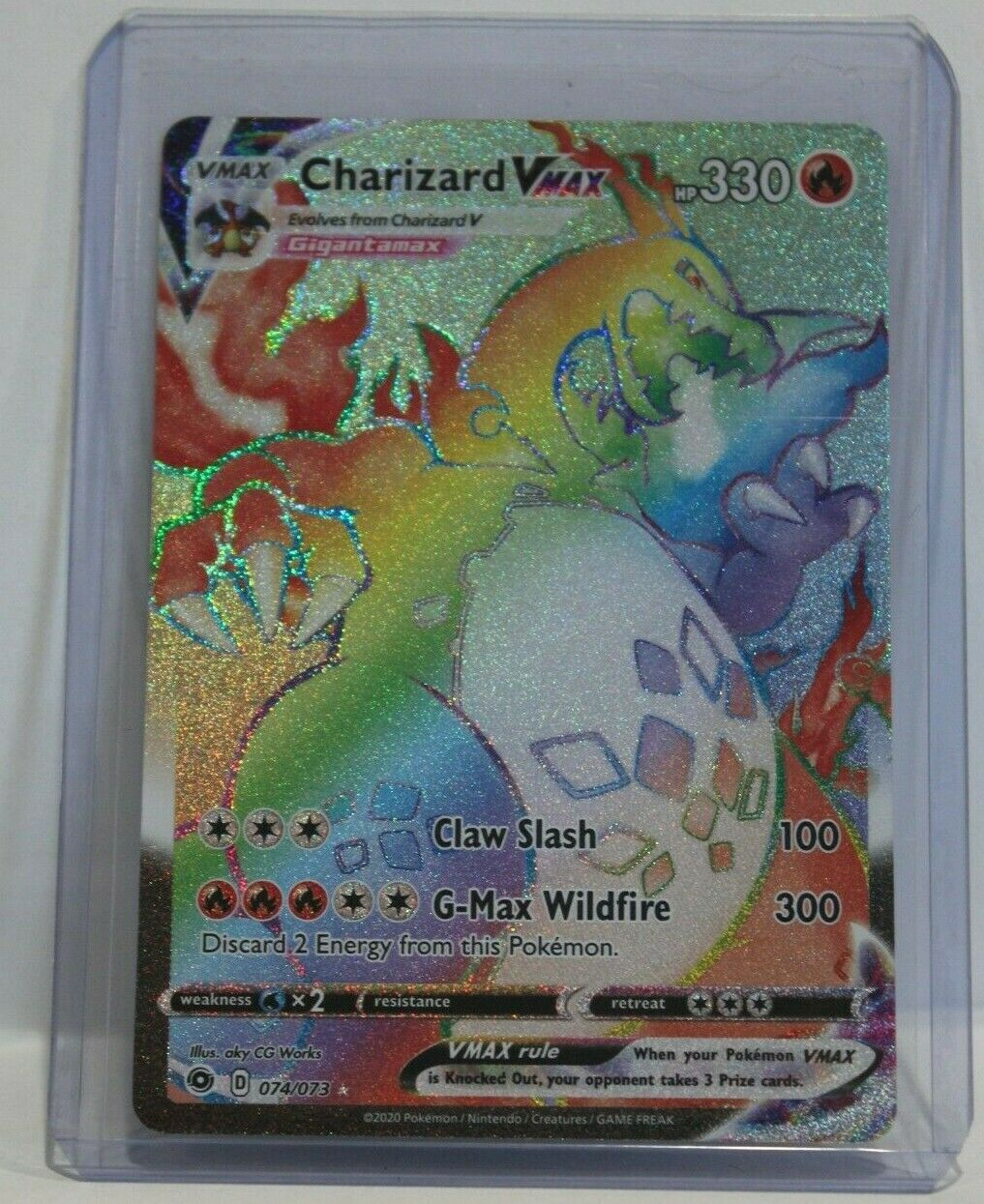 Pokemon PSA 10 Japanese Sword /& Shield Charizard V 001//021 Ultra Rare New