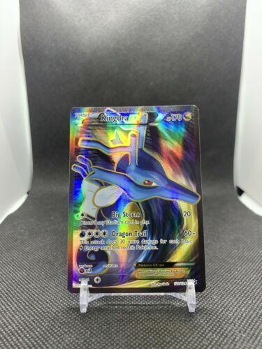 122//124 Full Art Ultra Rare NM Pokemon XY Fates Collide Kingdra EX