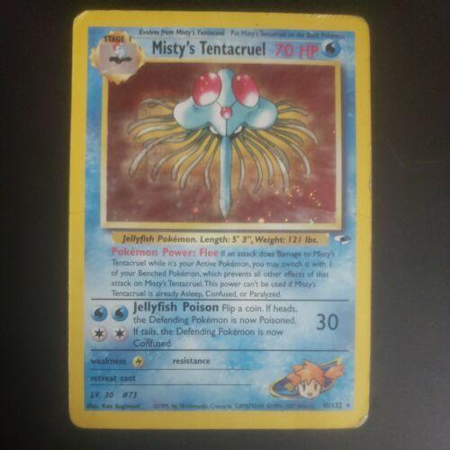10//82 006PK010 Rare Holo Fossil Misty/'s Tentacruel