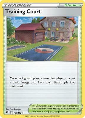 Training Court 169//192 Playset X4 Uncommon Pokemon TCG S/&S Rebel Clash