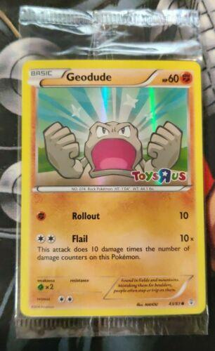 Geodude Sealed Toys R Us 43//83 Factory Sealed Pokemon Card