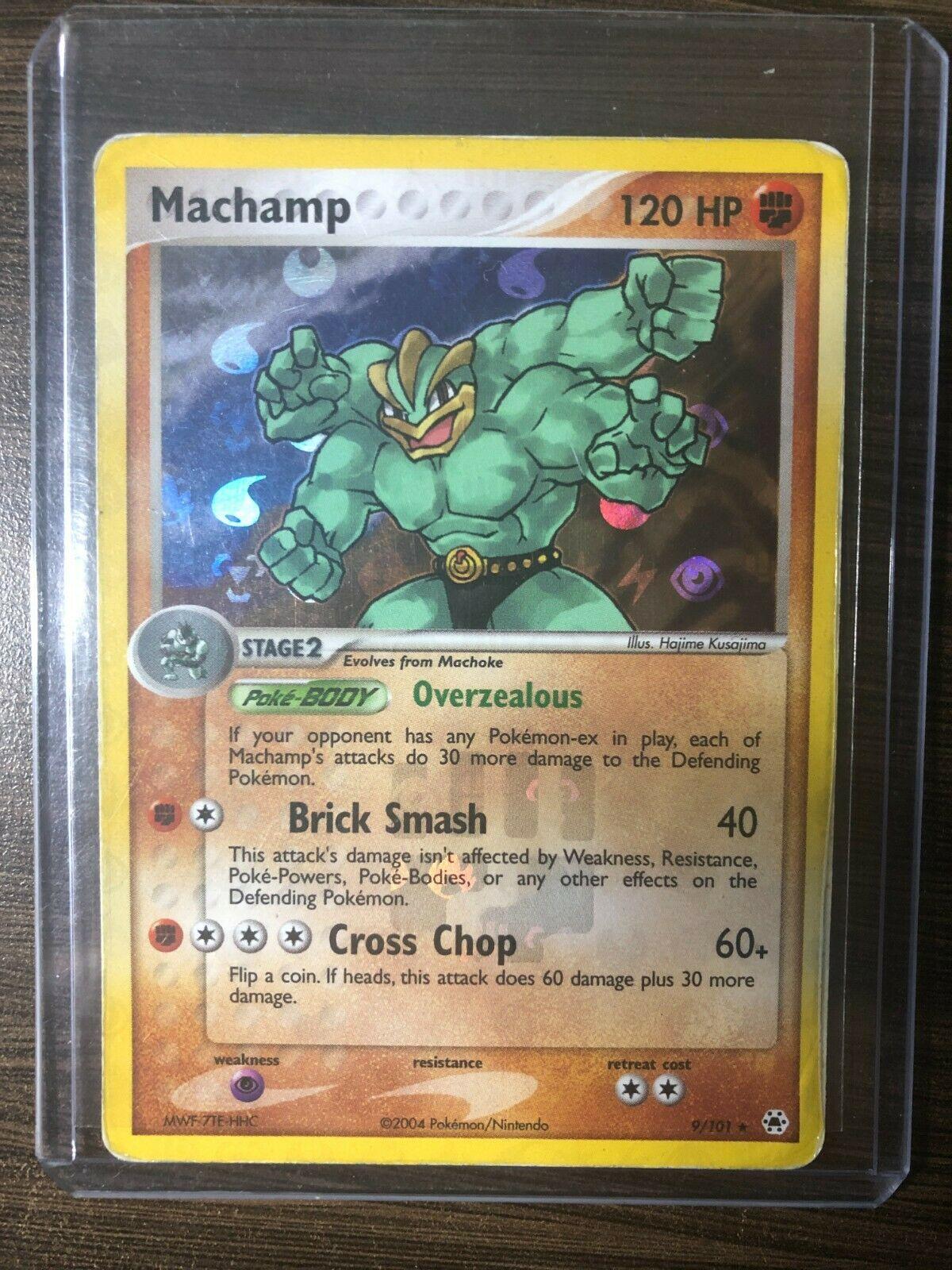 Machamp 9//101 - Rare NM Promo Pokemon 3DY National Championships