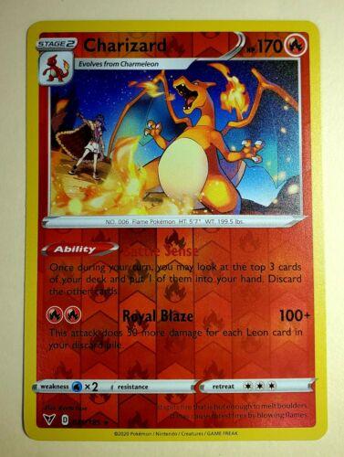 Pokemon Charizard Vivid Voltage 25//185 Rare Charmander 23//185 Charmeleon 24//185