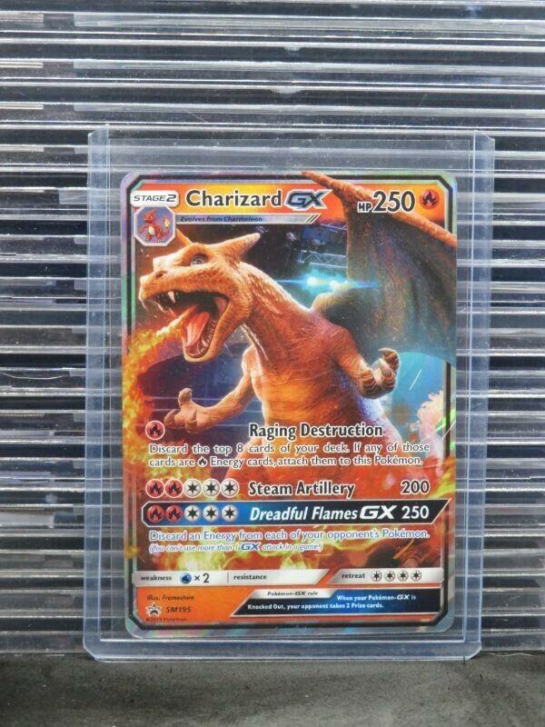 SM195 1x Charizard GX SM Black Star Promo NM-Mint Pokemon Pokemon Promos
