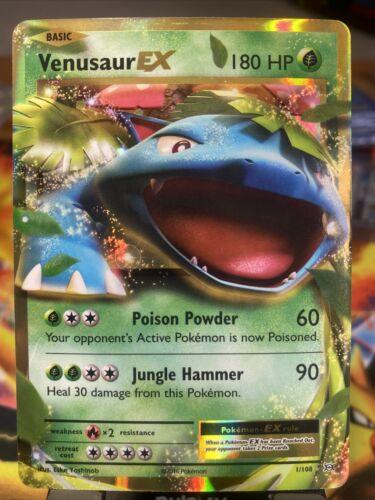 Pokemon M Venusaur EX 2//108 Holo Ultra Rare Evolutions Near Mint