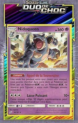 Nidoqueen - SL09:Duo De Choc - 56/181 - Carte Pokemon Neuve Française