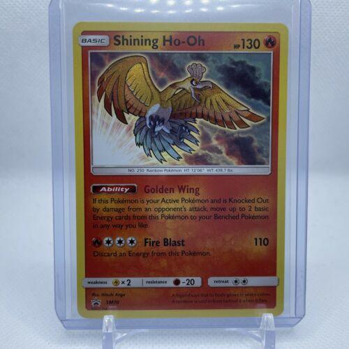 Schimmerndes Ho-Oh Pokemon SM70 Promokarte