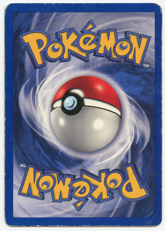 1999 Pokemon Base Set 1st Edition Machamp 8/102 Heavily Played Holo Rare - Image 2