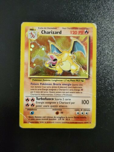 Details about  /Pokemon Charizard Spanish Holo Card 4//102 Holy Grail Unlimited get it CGC PSA