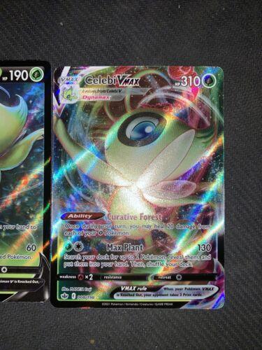 Pokemon Celebi V 007/198 & Celebi VMAX 008/198 - Chilling Reign - NM/Mint - Image 3