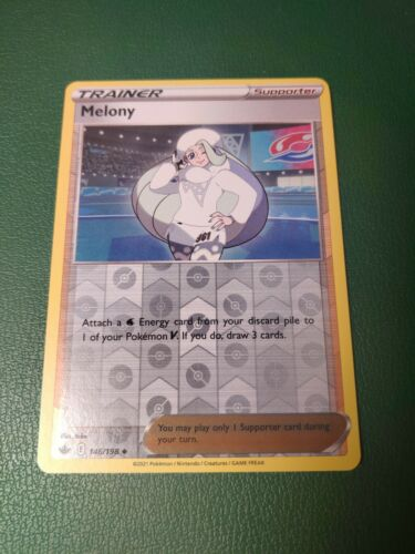 Melony Reverse Holo Chilling Reign 146/198 Near Mint