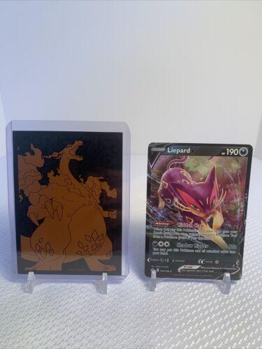 Liepard V 104/198 Pokemon Chilling Reign NM