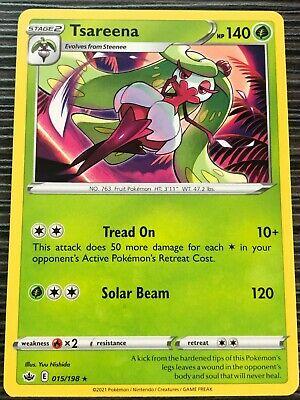 Pokemon : SWSH CHILLING REIGN TSAREENA 015/198 RARE