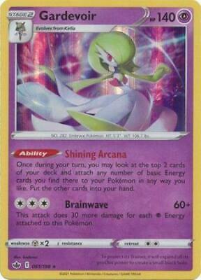 Pokemon Card Chilling Reign 061/198 Gardevoir Holo Rare