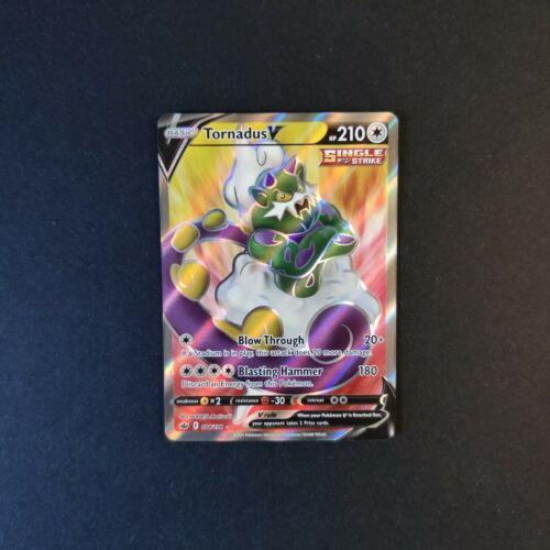 Tornadus V 184/198 NM Mint Chilling Reign Full Art Rare Holo Pokemon Card