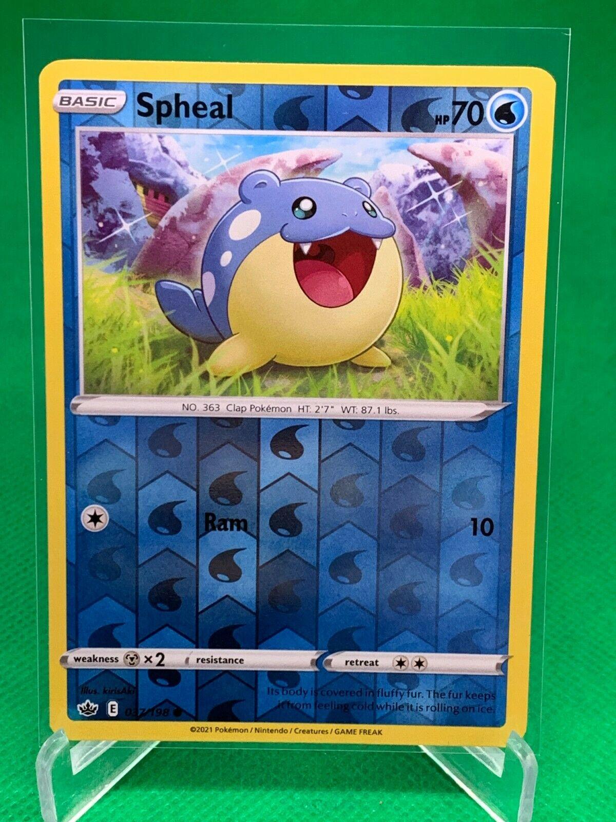 Pokemon - Spheal - Chilling Reign - 037/198 - Reverse Holo
